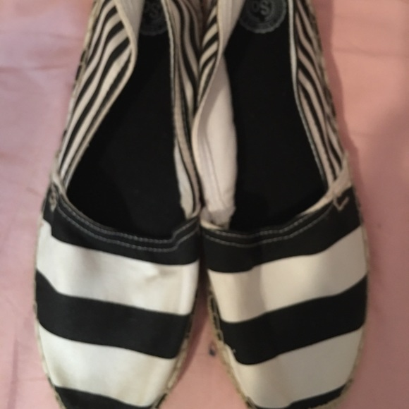 So black and white shoes!